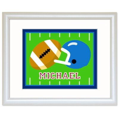 Olive Kids Game On Personalized Football Print