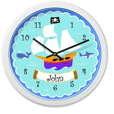 Pirates Personalized Clock
