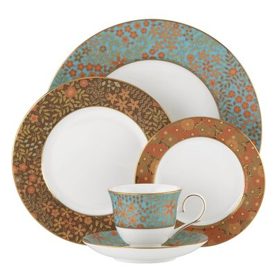 Lenox Gilded Tapestry 5 Piece Place Setting