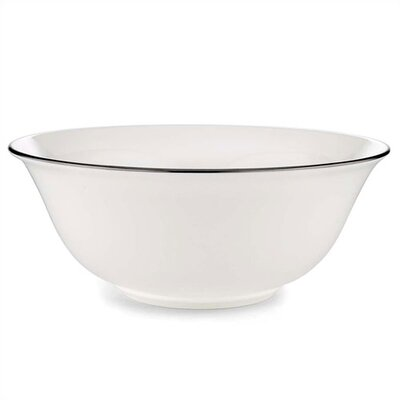 "Lenox Continental Dining Platinum 9"" Serving Bowl"