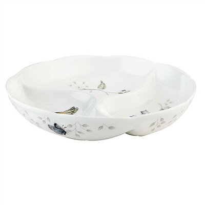 Lenox Butterfly Meadow Divided Serving Dish
