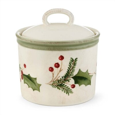 Lenox Holiday Gatherings 10.5 oz. Sugar Bowl with Lid