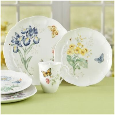 Butterfly Meadow 18 Piece Dinnerware Set