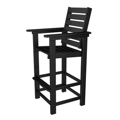 "POLYWOOD® Captain 29.5"" Outdoor Bar Stool"