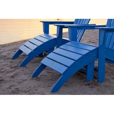 POLYWOOD® South Beach Adirondack Ottoman
