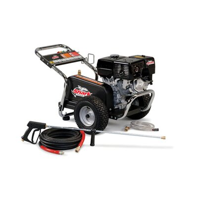 Shark Pressure Washers BG Series 3.7 GPM Honda GX390 Belt Drive Cold Water Pressure Washer