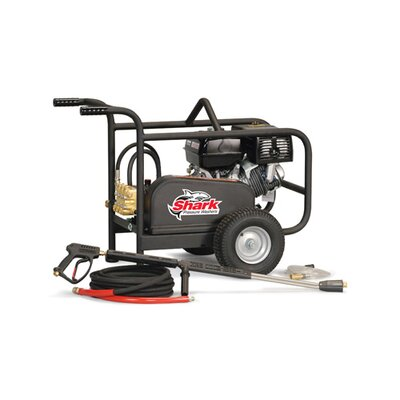 Shark Pressure Washers BR Series 3.7 GPM Honda GX390 Belt Drive Cold Water Pressure Washer