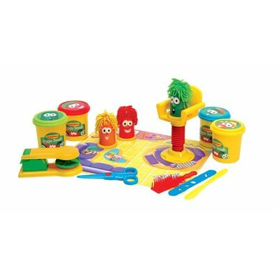 VeggieTales Oh, Where Is My Hairbrush Veggie Dough Play Set