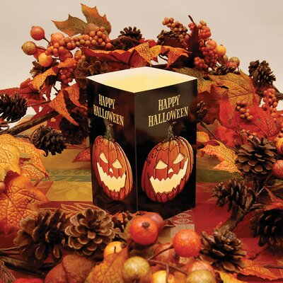 Luminarias Jack O'Lantern Tabletop Lanterns (Set of 6)