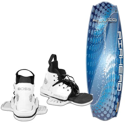Airhead Fluid 134cm Wakeboard with Boss Performance Bindings