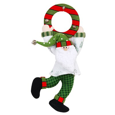 "DonnieAnn Company 11"" Santa Door Hang"