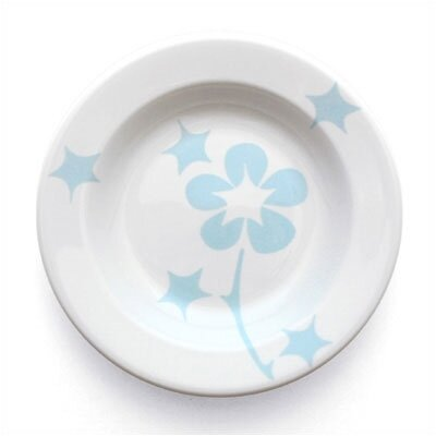 notNeutral Blue Flora Rim Bowl (Set of 4)