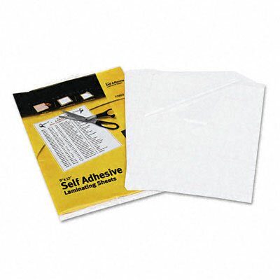 Avery Clear Self-Adhesive Laminating Sheets