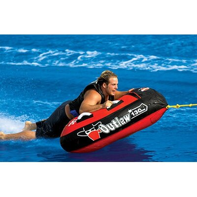 Outlaw Triangle Towable Tube with Optional 2K Tow Rope