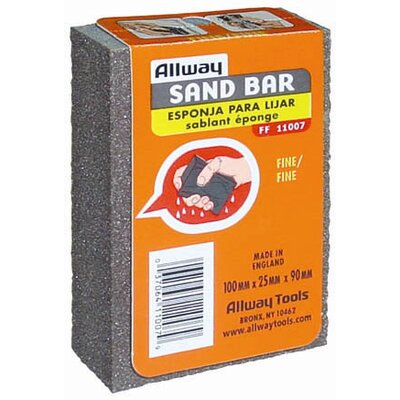AllwayTools 10 Piece FineSandbar Display FF