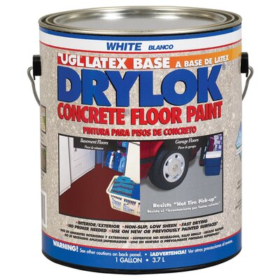 UGL 1 Gallon White Drylok® Latex Base Concrete Floor Paint Low VOC