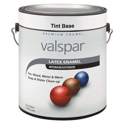 Valspar 1 Gallon Trim Base 2 Latex Enamel 410-65102 GL