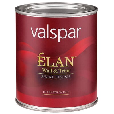 Valspar 1 Quart Pastel Base Élan™ Wall & Trim Pearl Finish Interior Paint