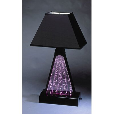 Midwest Tropical Fountain Pyramid Fountain Table Lamp