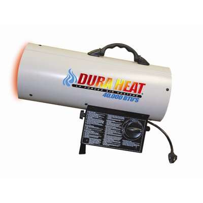 DuraHeat 40,000 BTU Forced Air Utility Propane Space Heater