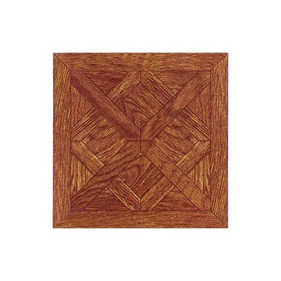 "Home Dynamix 12"" x 12"" Vinyl Tile in Wood Cross Diamond"