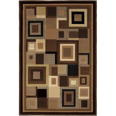 Home Dynamix Catalina Black/Brown Rug