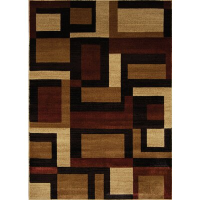 Home Dynamix Marquis Brown/Red Rug