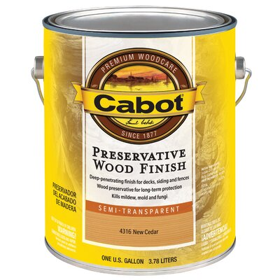 Valspar New Cedar Preservative Wood Finish Semi Transparent Wood