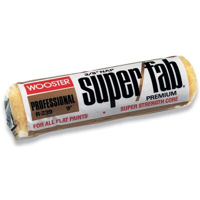 "Wooster 3/4"" Nap Super/Fab® Roller Covers R241-4"
