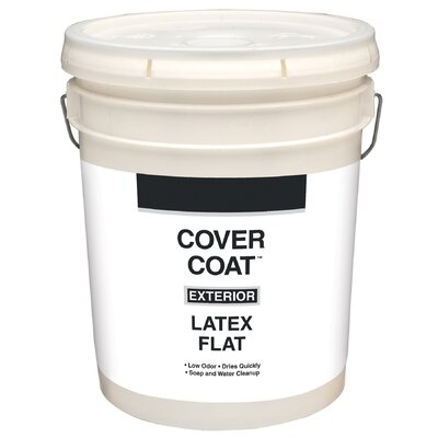 Guardian Contractor Grade 5 Gallons Flat White Exterior Latex House Paint