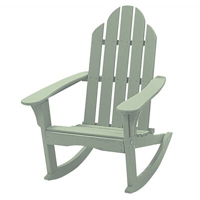 Great American Woodies Cottage Classic Rocker with Side Table