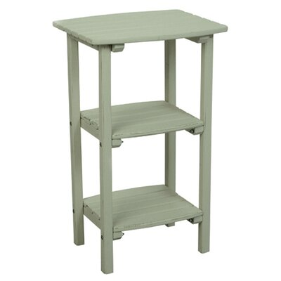 Great American Woodies Cottage Classic Three Shelf Side Table