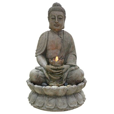 Alpine Buddha Serenity Fountain