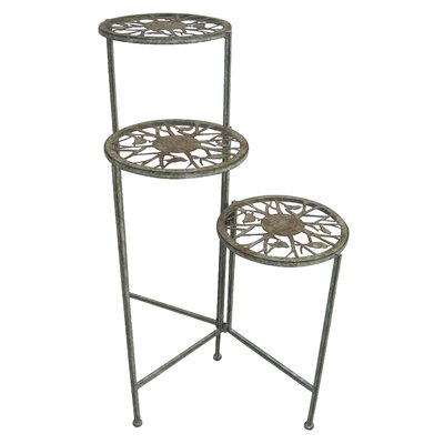 Alpine Metal 3 Tier Plant Stand