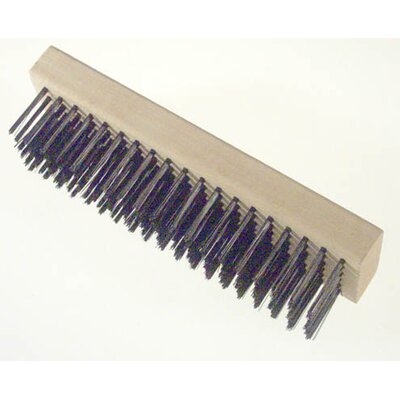 Gam Straight Back Wire Scratch Brush BW00619