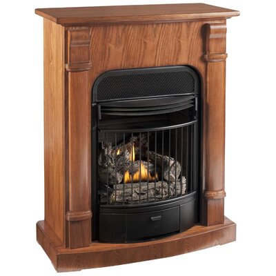 KozyWorld Windsor Four-in-One Dual Fuel Vent Free Gas Fireplace