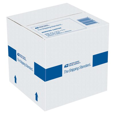 "Lepages 8"" x 8"" x 8"" USPS Shipping Carton"