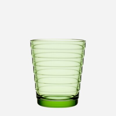 iittala Aino Aalto 7.75 Oz. Tumblers Apple Green (Set of 2)