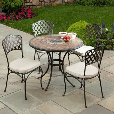 Alfresco Home Asti  5 Piece Dining Set