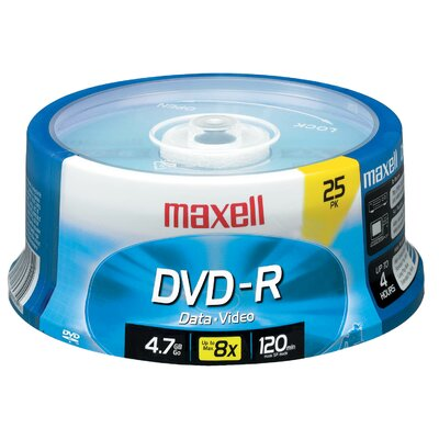 DVD-R 25 Pack Spindle 4.75 GB
