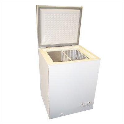 3.5 Cu. Ft. Capacity Freezer w/ Removable Basket