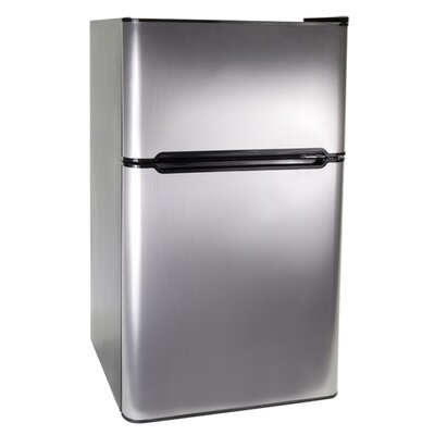 3.3 Cu. Ft. 2 Door Refrigerator/Freezer