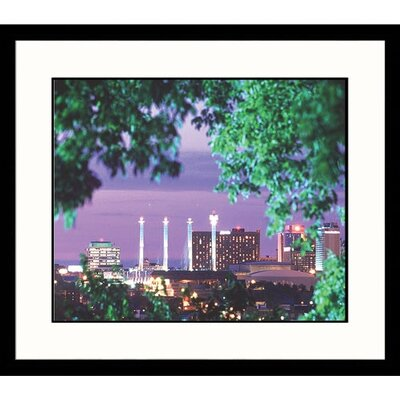 Great American Picture Kansas City Skyline Framed Photograph - Aneal Vohra