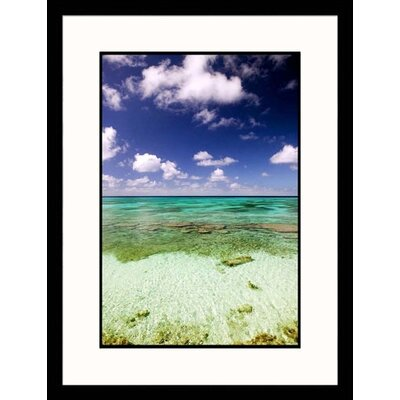 Turks and Caicos Ocean Framed Photograph - Walter Bibikow