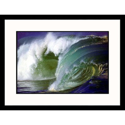 Ocean Wave II Framed Photograph - Hank Fotos