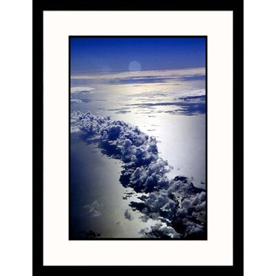 Ocean and Clouds Framed Photograph - Bruce Clarke