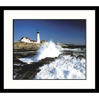 Portland Light Framed Photograph