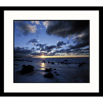 Great American Picture Sunset Cat's Head Point Framed Photograph - Adam Jones