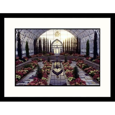 Great American Picture Como Park Flower Show Framed Photograph