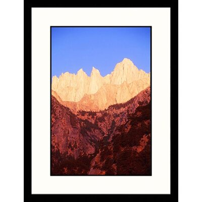 Great American Picture Mt Whitney, Sequoia National Park, California Framed Photograph - Brian Maslyar